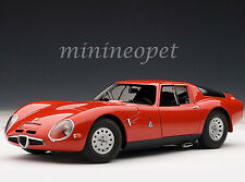 AUTOart 70198 1965 65 ALFA ROMEO TZ2 1/18 MODEL CAR RED