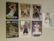 Jimmer Fredette (7) card lot Marquee Rookie, 2012 Prizm #212 2013 #18 Old School