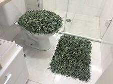 RUG MEDUSA BATHROOM SET GREEN, OLIVE E WATER GREEN