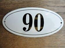 Stile ANTICO SMALTO porta numero 90 numero Civico Porta Placca Segno