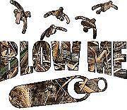 Blow Me Duck Call Vinyl Sticker Decal Cars Trucks Vans Walls Laptop MacBook