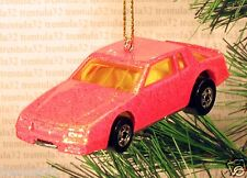 CHEVY STOCKER Stock Car CHRISTMAS ORNAMENT Orange race racing rare XMAS