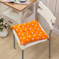 COLOURFUL SEAT PAD DINING ROOM GARDEN KITCHEN OFFICE CHAIRS CUSHIONS WITH TIE ON