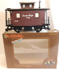 Lionel G Scale CANADIAN PACIFIC BOBBER CABOOSE #8-87708 Good Used Condition