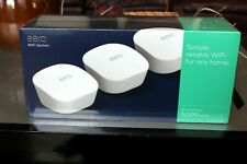 Brand New - Eero Mesh WiFi Network System Router - 3-Pack - Whole Home Coverage