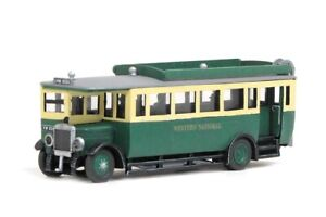 MODELSCENE 00 gauge  ready painted plastic item No:5133 Maudslay Bus.
