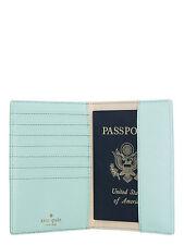 NEW Kate Spade Wedding Belles Best Friend Ever Passport Holder Case Grace Blue