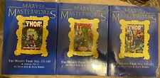 Marvel Masterworks THOR vol 5 6 7 set SEALED foil variants limited hc OOP RARE
