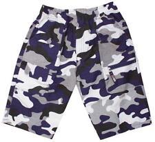 Boys 2018 Microfibre Army Pixel Camo Combat Pocket Shorts 3 to 12 Years