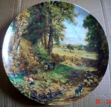Large Royal Vienna Bavaria Germany Wall Plate THE CORNFIELD