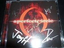 A Perfect Circle Mer De Noms (Australia) Signed Autographed CD – Like New
