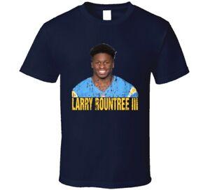 Larry Rountree Iii Los Angeles Football Fan Sports Gift Worn Look T Shirt