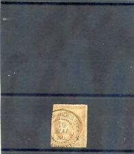 TAHITI, FORERUNNER YT11 1878 10c BISTRE, 10MAI80  TAITI(OCEANIE) CDS $450