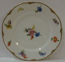 "Warwick BOUQUET DRESDEN (SCALLOPED) Bread Plate (6"") BEST More Items Available"