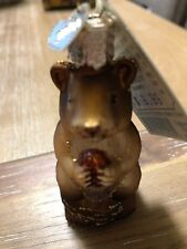 Old World Christmas Chipmunk Ornament 2004 New With Tags