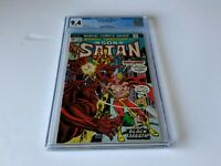 MARVEL SPOTLIGHT 15 CGC 9.4 WHITE PAGES SON OF SATAN BLACK SABBATH COMICS 1974