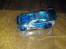 New Loose 2007 Hot Wheels Mystery Car Chrome and Blue Power Rage