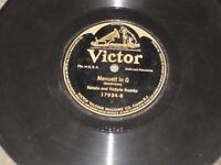 Antique 78! VICTOR Tyrolean Dance/Mennuett in G #17934