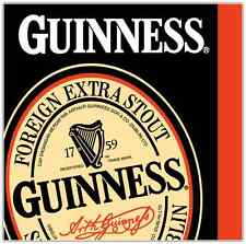 "Guinness Beer Brewery Alcohol Car Bumper Window Locker Sticker Decal 4.5""X4.5"""