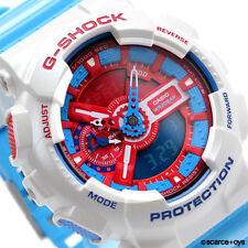 CASIO G-SHOCK Big Case Red & Blue Watch GA-110AC-7A GA110AC-7A