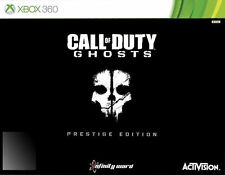 CALL OF DUTY GHOSTS PRESTIGE EDITION MICROSOFT XBOX 360 BRAND NEW