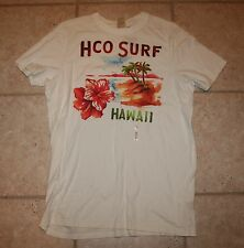 NWT Hollister Mens XL SS White HCO Surf SS T-Shirt