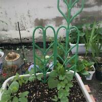 3Stück 4'' x 14'' Kunststoff Gartengitter Kletterblatt Kleine Topfpflanze Halter