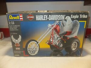 Revell Harley Davidson Eagle Trike Kit 07959 1994 Version Harley Eagle Trike
