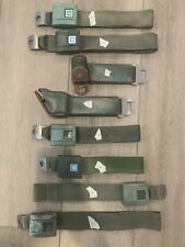 1967 - 1972 Chevy Gmc Seat Belts Pickup Truck C10 Green C20 Set Oem Gm 1972