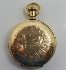 EXTREMELY DETAILED 118 YEARS OLD ENGRAVED ELGIN NATIONAL POCKET WATCH 1890 11J