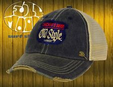 New Old Style Beer Relaxed Trucker Vintage Snapback Cap Hat