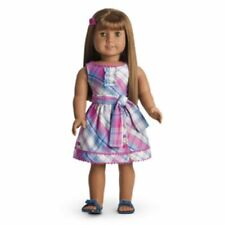 """Retired *Truly Me *Plaid Party Dress Outfit*Fits Any Ag 18"""" Doll"""
