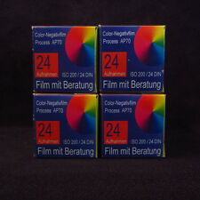 4x Color-Negativfilm Process AP70 AP 70 Film / fotografischer Film (732)