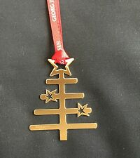 GEORG JENSEN - 2014 GOLD TREE - CHRISTMAS DECORATION