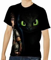 New How To Train Your Dragon Mens T-Shirt Tee Size S M L XL 2XL 3XL