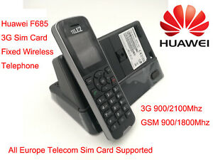 Unlocked New Huawei F685 3G WCDMA GSM Fixed Wireless terminal With Sim Card Slot