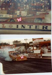 DARRELL AMBERSON NITRO FUNNY CAR CORVETTE PHOTOS IHRA DRAG RACING
