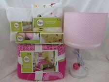 10 pc Circo Ladybug Collection Full Quilt, Shams, Sheets, Lamp & Decal Set NIP