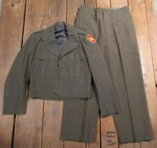 Vintage 1950s Pennsylvania National Guard Full Uniform Wool Eisenhower Jacket PA