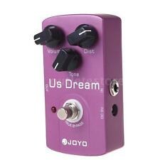 JOYO JF-34 US Dream Distortion Guitar Effect Pedal True Bypass Purple Y1D0