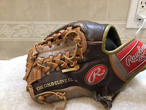 "Rawlings EB204MT 11.5"" Youth Adult Baseball Softball Glove Left Hand Throw"