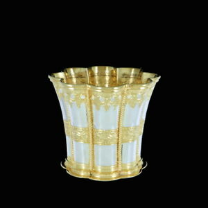 A. Michelsen. Margrethe Cup. Sterling Silver, partly gilded. 1971.