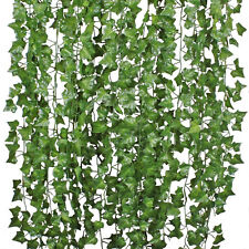 Faux Fake Foliage Garland Leaves Decoration Artificial Greenery Ivy Vine Hanging