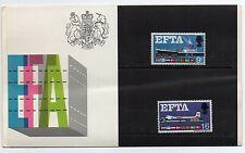 GB 1967 EFTA Presentation Pack VGC stamps Free postage!!
