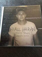 "NIALL HORAN ""THIS TOWN"" BRAZILIAN 6 REMIX CD PROMO / TIESTO CHEAT CODES MIXES"