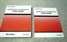 HONDA CRF 450 R , Cross , ab 2009 , Werkstatthandbuch + Zusatz-Handbuch ab 2010