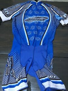 Lewis Garneau cycling jersey XSIV Speed Men's SZ XL Compression Bike Shorts BDS
