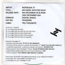 (EO341) Nostalgia 77, An Angel With No Halo - 2013 DJ CD