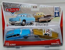 Disney Pixar Cars MRS. THE KING / TEX DINOCO  New 2013 2 PACK