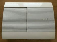 Sony PS3 Playstation 3 Super Slim Limited Edition White Console Only